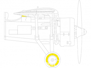Eduard Express Mask EX772 PZL P.11c Arma Hobby 1/48