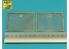 Aber kit d'amelioration 16056 Maille supplémentaire plus petite utilisée sur Tiger I, Ausf.E sous des grilles standard 1/16