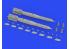 Eduard kit d'amelioration brassin 632172 GBU-49 1/32