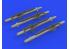 Eduard kit d'amelioration brassin 632174 Missiles ALARM 1/32