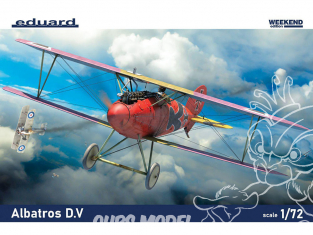 EDUARD maquette avion 7406 Albatros D.V WeekEnd Edition 1/72