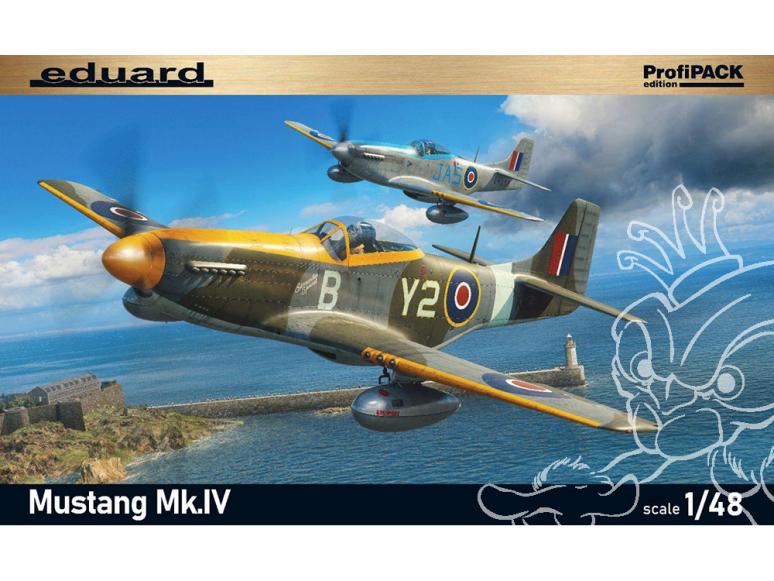 EDUARD maquette avion 82104 Mustang Mk.IV ProfiPack Edition 1/48