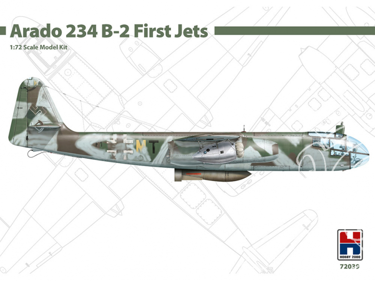 Hobby 2000 maquette avion 72039 Arado 234 B-2 First Jets 1/72