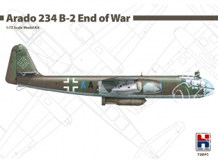 Hobby 2000 maquette avion 72040 Arado 234 B-2 End of war 1/72