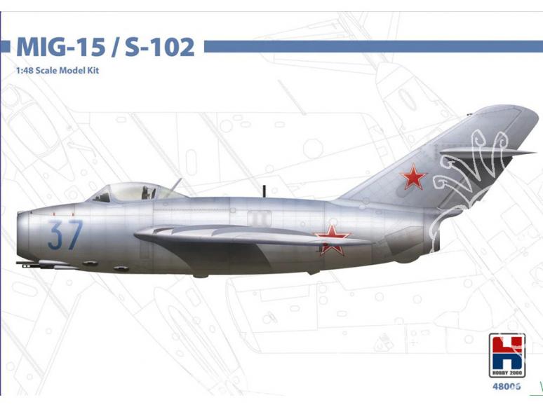 Hobby 2000 maquette avion 48006 MiG-15 / S-102 1/48