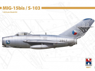 Hobby 2000 maquette avion 48007 MiG-15Bis / S-103 1/48