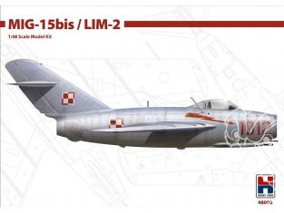 Hobby 2000 maquette avion 48008 MiG-15Bis / LIM-2 1/48