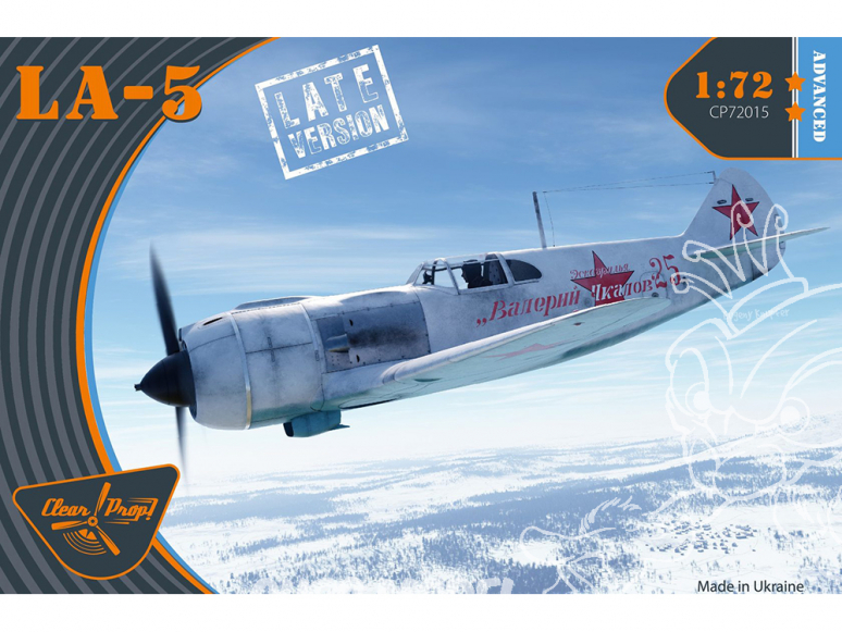 Clear Prop maquette avion CP72015 La-5 late version ADVANCED KIT 1/72