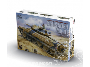 Border model maquette militaire BT-012 Crusader Mk.III Battle of EL Alamein 1/35