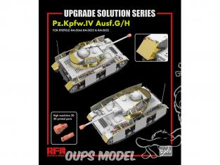 Rye Field Model maquette militaire 2009 Set amélioration Pz.Kpfw.IV Ausf.G/H 1/35
