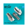 ResKit kit d'amelioration Avion RSU72-0109 Baie de roues MiG-25 pour kit ICM 1/72
