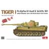 Rye Field Model maquette militaire 5001U Tigre I Initial Production Début 1943 Front Afrique du Nord / Tunisie 1/35