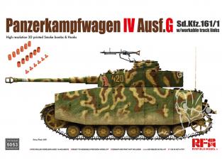 Rye Field Model maquette militaire 5053 Panzerkampfwagen IV Ausf.G 1/35