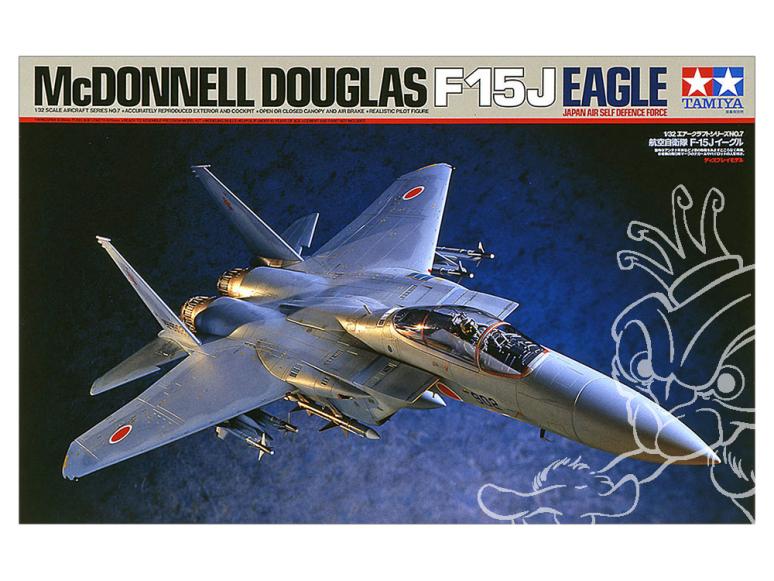 Tamiya maquette avion 60307 F-15J Eagle 1/32
