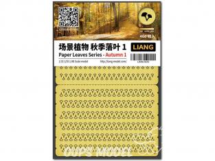 Liang Model 0143 Automne 1 - Serie feuilles en papier 1/32 - 1/35 - 1/48