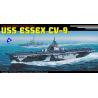 dragon maquette bateau 7049 USS Essex CV-9 1/700