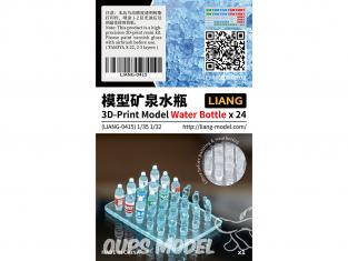 Liang Model 0415 Bouteilles d'eau x24 1/35 - 1/32