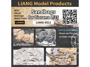 Liang Model 0511 Sacs de sable x40 1/35