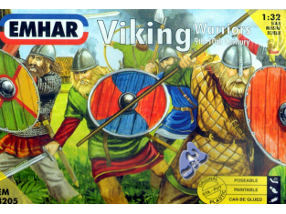 EMHAR figurine 3205 Viking 1/32