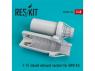 ResKit kit d'amelioration Avion RSU48-0104 Tuyère fermée de F-15 pour kit GWH 1/48