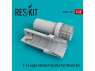 ResKit kit d'amelioration Avion RSU48-0101 Tuyère ouverte de F-15 pour kit Revell 1/48