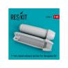ResKit kit d'amelioration Avion RSU48-0097 Tuyère fermée F-14 (D) pour kit Hasegawa 1/48