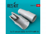 ResKit kit d'amelioration Avion RSU48-0117 Tuyère Su-27 pour kit KITTY HAWK 1/48