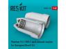 ResKit kit d'amelioration Avion RSU48-0110 Tuyère ouverte Phantom (FG.1 / FGR.2) pour kit Hasegawa et Revell 1/48