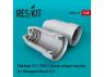 ResKit kit d'amelioration Avion RSU48-0111 Tuyère fermée Phantom (FG.1 / FGR.2) pour kit Hasegawa et Revell 1/48