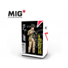 MIG Productions by AK MP35-423 Equipage de char Britannique mangeant Afrique du Nord 1942 1/35