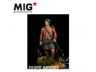 MIG Productions by AK MP90-151 Highlander Clansman 1746 90mm