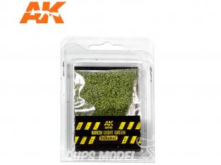 AK interactive Diorama series ak8155 Feuilles bouleau vert clair 1/72 / 28mm