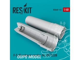 ResKit kit d'amelioration Avion RSU48-0115 Tuyère F-5E pour kit AFV CLUB 1/48