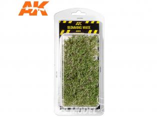 AK interactive Diorama series ak8174 Arbustes buissons blanc fleuri 1/35 - 75mm / 90mm