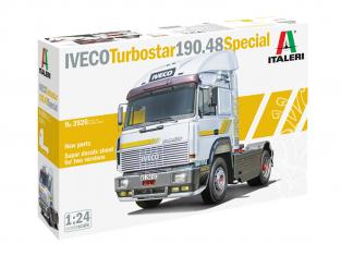 Italeri maquette camion 3926 IVECO Turbostar 190.48 Special 1/24