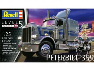 Revell US maquette camion 2627 Peterbilt 359 1/25