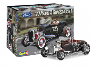 Revell US maquette voiture 4463 Model A Roadster 2'N1 1929 1/25