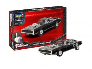 Revell maquette voiture 07693 Fast And Furious Dominics 1970 Dodge Charger 1/24