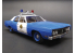 AMT maquette voiture 1172 Ford Galaxie Police Car 1970 (James Bond 007) 1/25
