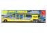 AMT maquette camion 1193 Remorque porte voiture Haulaway 1/25