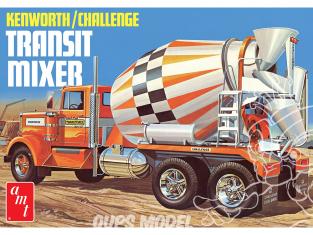 AMT maquette camion 1215 Camion Kenworth Toupie a béton 1/25