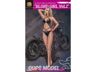 Hasegawa maquette figurine 52275 12 Real Figure Collection No.04 «Blonde Girl Vol.2» 1/12