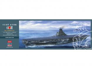Hasegawa maquette bateau 52278 Porte-avions de la marine japonaise Shinano «80e anniversaire de la construction» 1/450