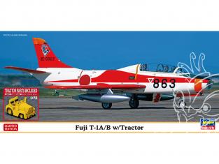 HASEGAWA maquette avion 02364 Fuji T-1A / B avec tracteur 1/72