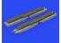 Eduard kit d'amelioration avion brassin 648620 GBU-53B w/BRU-61 1/48