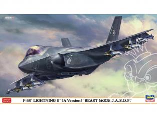 "Hasegawa maquette avion 02366 F-35 Lightning II (Type A) ""Beast Mode J.A.S.D.F."" 1/72"