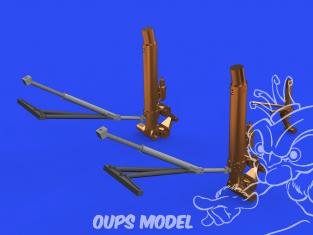 Eduard kit d'amelioration avion brassin 648632 Train d'atterrissage jambes bronze B-17F Hk Models 1/48