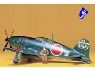 tamiya maquette avion 61018 mitsubishi Interceptor Raiden 1/48
