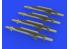 Eduard kit d'amelioration brassin 672266 Missiles ALARM 1/72