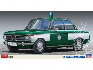 Hasegawa maquette voiture 20478 BMW 2002 Ti Voiture de police 1/24